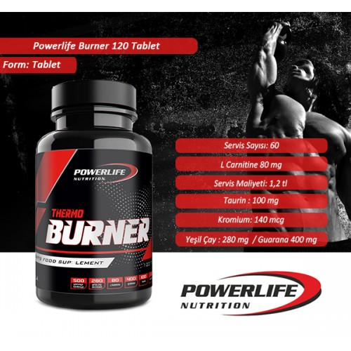 POWERLIFE Burner 120 Tablet