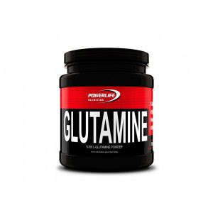 POWERLIFE Glutamine 500 gr / Shaker - All in Zero #freshstart - Poşet Whey Protein Hediyeli