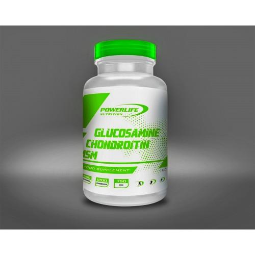 POWERLIFE Glucosamine Chondroitin Msm 180 Tablet + All in Zero #freshstart 500 ML HEDİYE