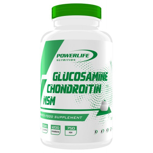 Powerlife Glukozamin Kondroitin Msm 180 Tablet  / 1 Adet All in Zero #freshstart