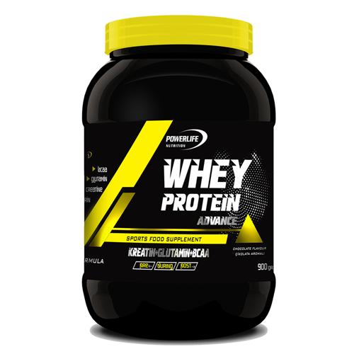 POWERLIFE Whey Protein Tozu 900 GR Aromalı / Shaker - Poşet Whey Hediyeli